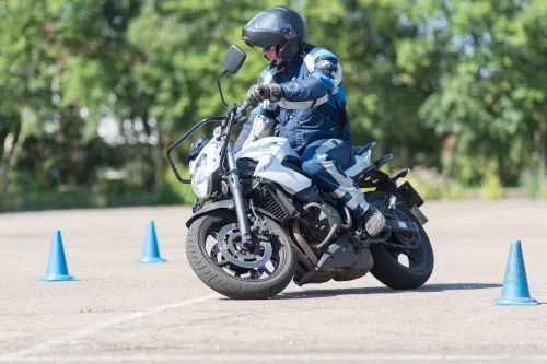 Motorrijbewijspoint Gouda motor rijtest